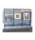 9818 TR Chariot porte-tableaux démontable avec côtés amovibles